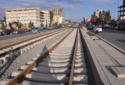 Addis Ababa Light Rail Transit project - rail track