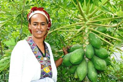 Birtukan Dagnachew - Ethiopia woman farmer winner of World Food Prize