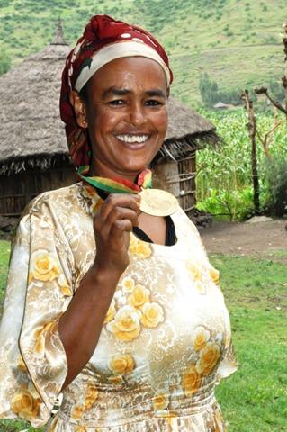 Birtukan Dagnachew - Ethiopian woman farmer winner of World Food Prize
