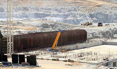 Grand Ethiopian renaissance dam - March 2014