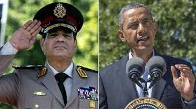 Al-Sisi, Obama