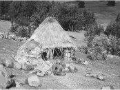Photo - Traditional Ethiopian rural home