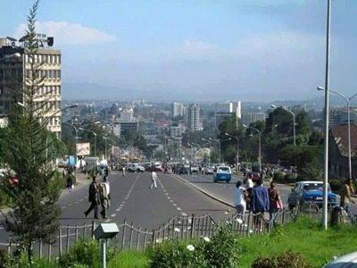 Photo - Addis Ababa main street