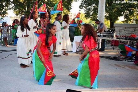 Photo - Eritrean community in London