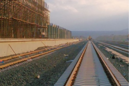 Photo - Ethiopia new railway track