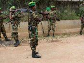 Photo - Ethiopian troops in AMISOM