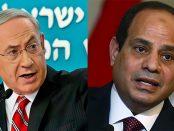 Photo - President Abdel Fattah al-Sisi and Prime minister Benjamin Netanyahu