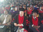 Photo - Axum University awarded Sebhat Nega Honorary Doctorate