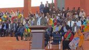 Photo - President Abdi Mohamoud Omar, Jigjiga stadium, September 27, 2016