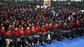 Photo - A graduation ceremony at a university, Ethiopia, July 2016