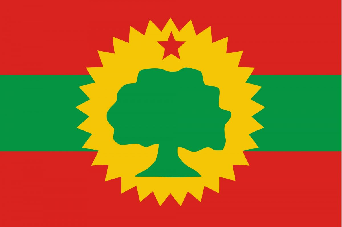 Image - Flag of Oromo Liberation Front