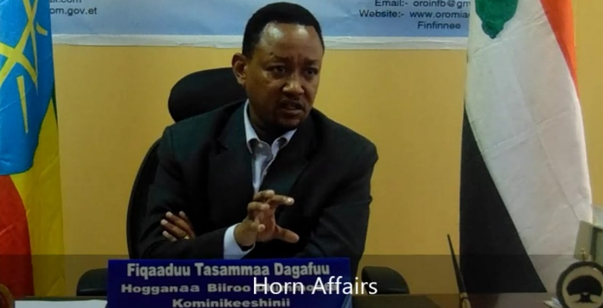 Photo - Fekadu Tessema, Oromia Comm Bureau head
