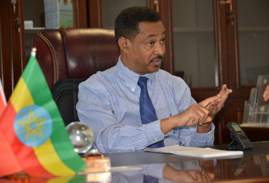 Photo - Alem Gebrewahd, executive member of TPLF, EPRDF, and head of TPLF Secretariat