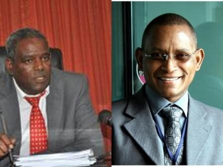 Photo - TPLF Chairman Abay Woldu and Dep. Chair Debretsion Gebremichael