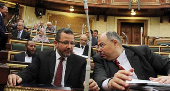 Egypt Parliament - Upper House [Shura Council] deliberating on Ethiopia's dam on Nile