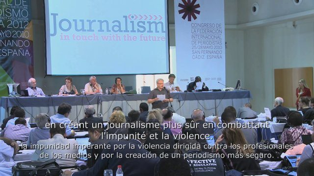 International Federation of Journalists World Congress 2013