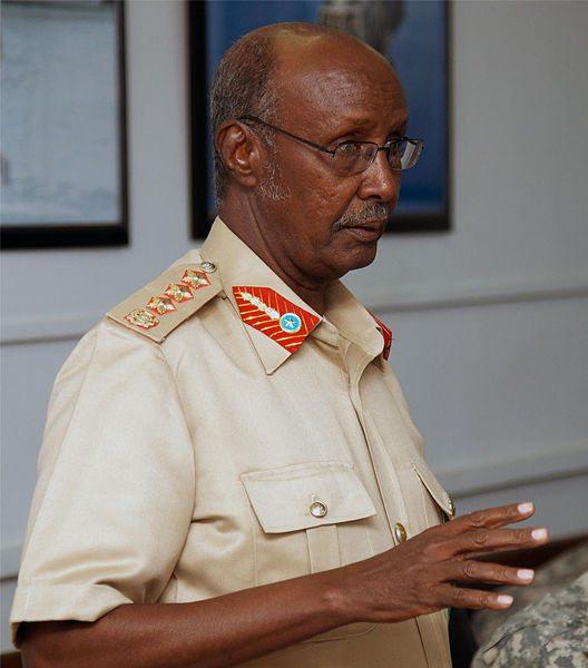 General Dahir Adan Elmi - Chief of Staff of Somalia's National Army