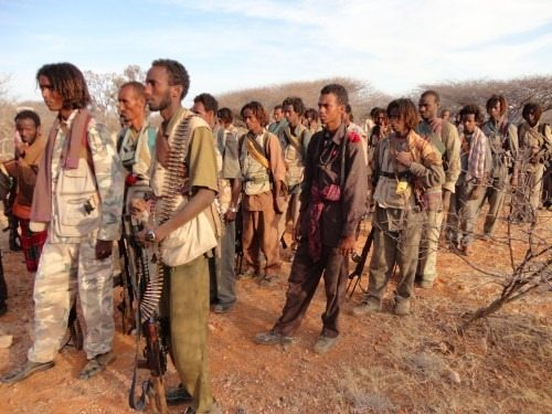 Photo - ONLF (Ogaden People Liberation Front) fighters