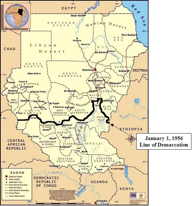 Potential Causes Consequences of S Sudan becoming a Failed State