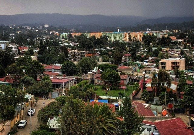 Photo - Addis Ababa evening view