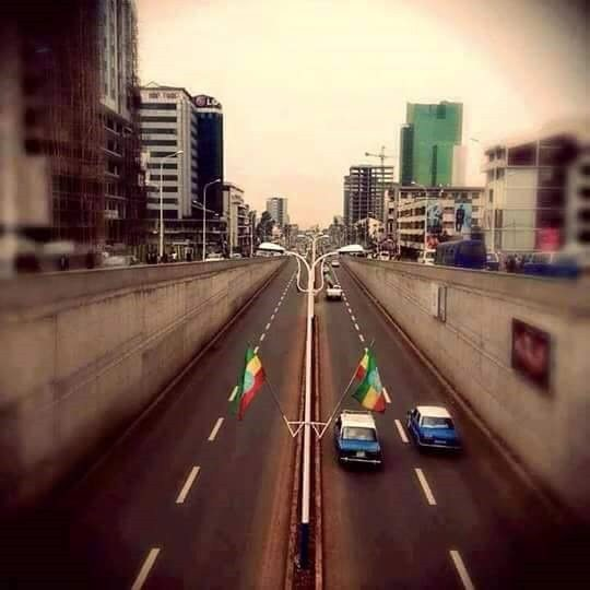 Photo - Addis Ababa road