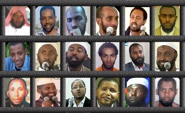 Photo - Sentenced Ethiopian Muslim activists
