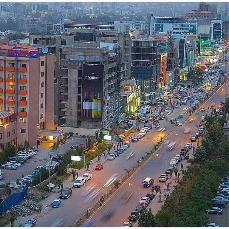 Photo - Addis Ababa around Bole Medhanialem