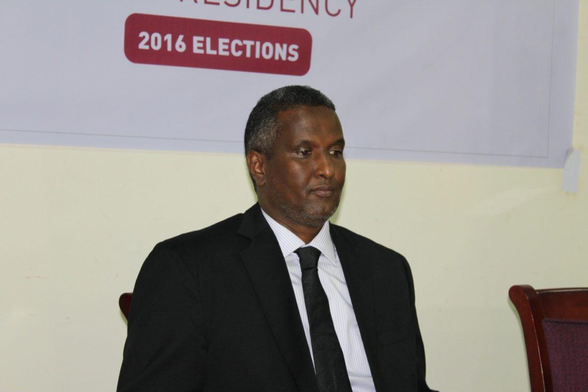 Photo - Somalia Presidential candidate Abdirahman Abdishakur