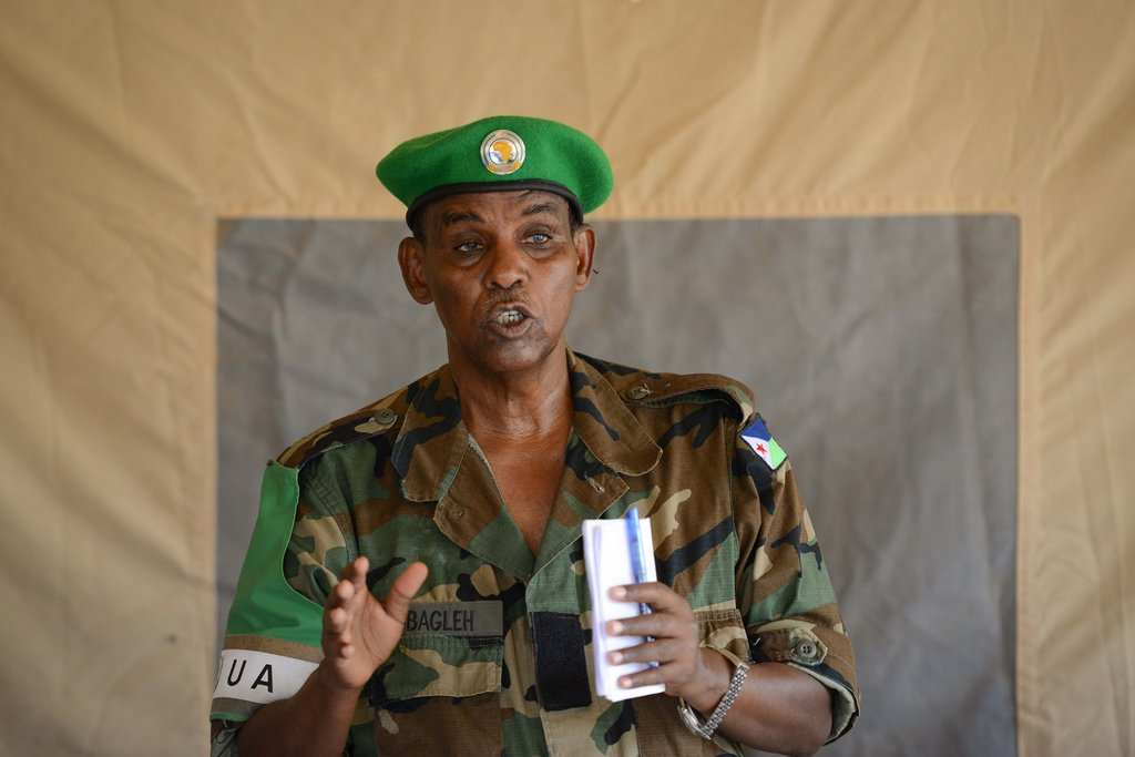 Photo - Djiboutian General Osman Nour Soubagleh appointed as Commander of AMISOM