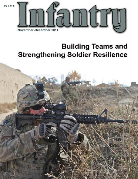 Image - Cover page of Infantry magazine of the U.S. Army Infantry School at Fort Benning