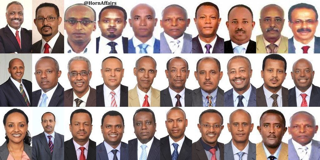 Photo- Ethiopian Airlines Board members and Executive Officers