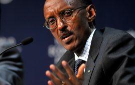 Photo - President Paul Kagame of Rwanda