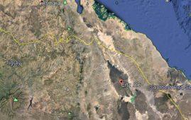 Map - Erta Ale, Afar, Ethiopia