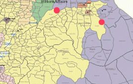 Map - Maeso & Babile areas, Oromia-Somali regions border