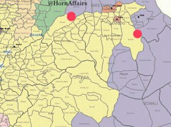 Map - Maeso & Babile areas, Oromia-Somali regions border
