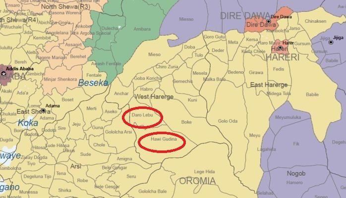 Photo - eastern parts of Oromia region, Ethiopia