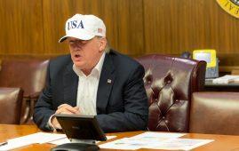 Photo - President Donald Trump in White House