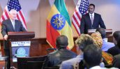Photo - Secretary of State Rex Tillerson and Foreign Minister Workneh Gebeyehu