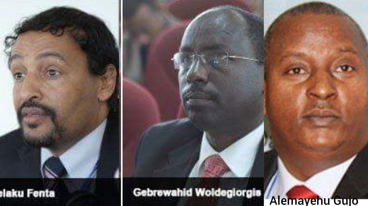 Photo - Melaku Fenta, Gebrewahd Woldegiorgis, Alemayehu Gujo