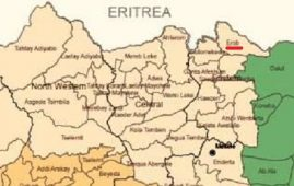 Map - Irob woreda, Tigray