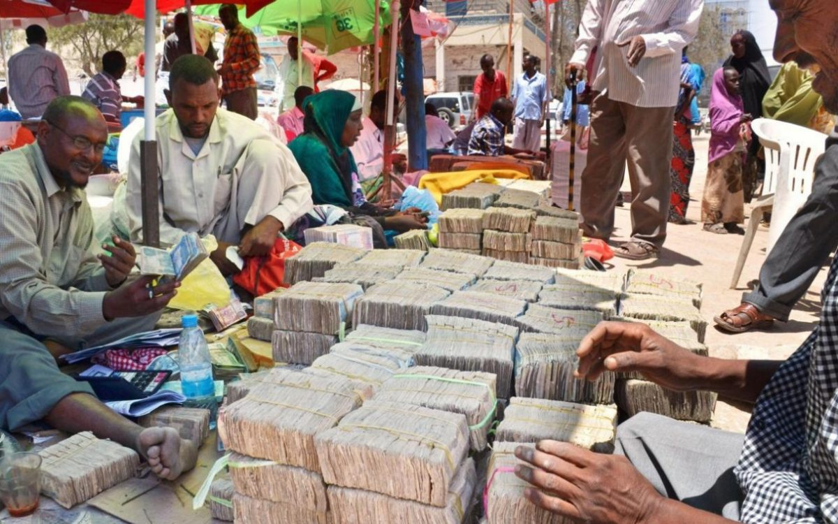 Photo - Foreign currency market in Hargeisa, Somaliland