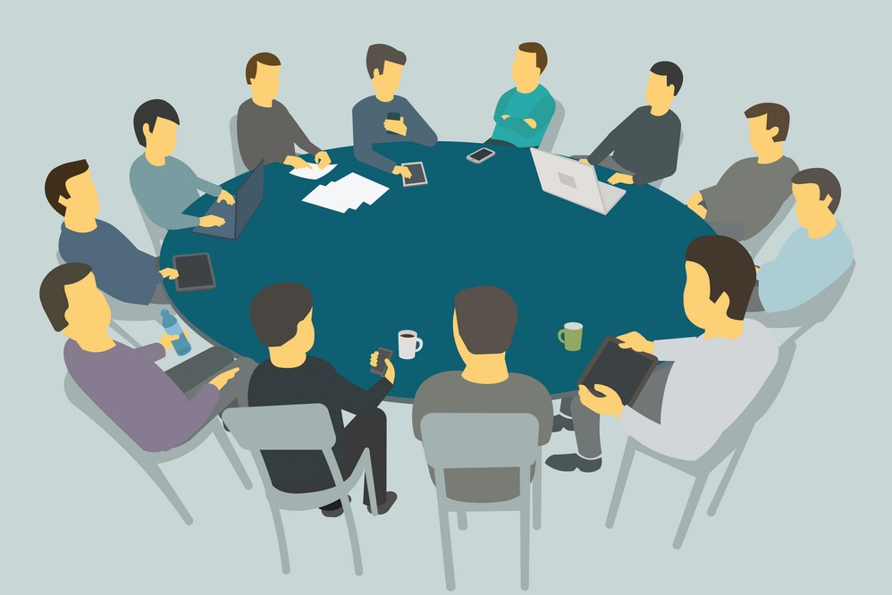 Photo - Round table discussion clipart