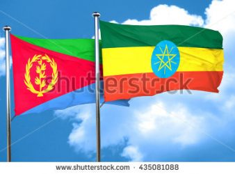 Image - Ethiopian and Eritrean flags