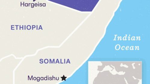 Map - Somaliland and Horn of Africa